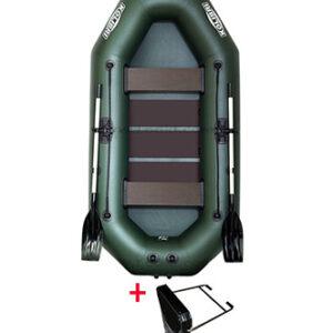 Kolibri K-280 TP zelený, lamelová podlaha, držák