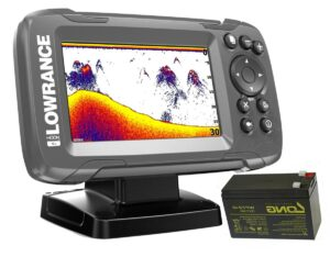sonar Lowrance HOOK2 4× GPS se sondou Bullet Skimmer